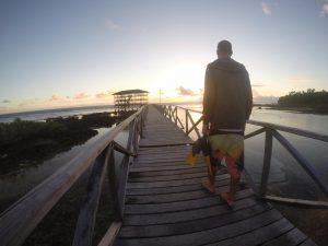 Patrick Reiners Bodysurfing Boardwalk cloud9 Siargao