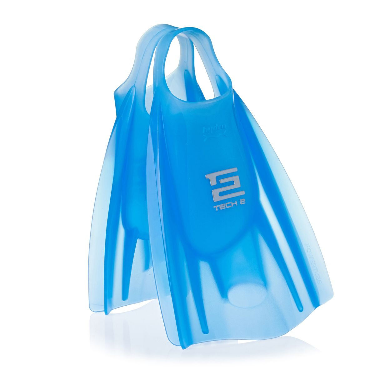 Hydro Tech 2 Bodyboard Fins Ice Blue - Large