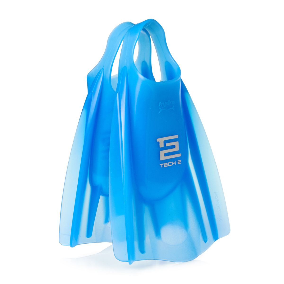 Hydro Tech 2 Ice Blue Bodyboard Fins - X-Large