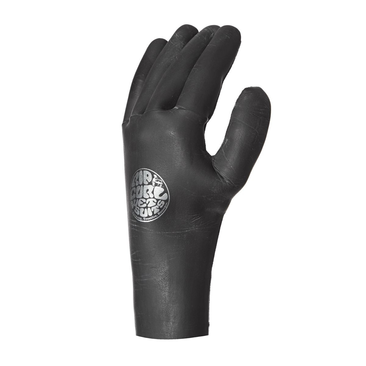Rip Curl Rubber Soul 3mm 5 Finger Wetsuit Gloves - Black