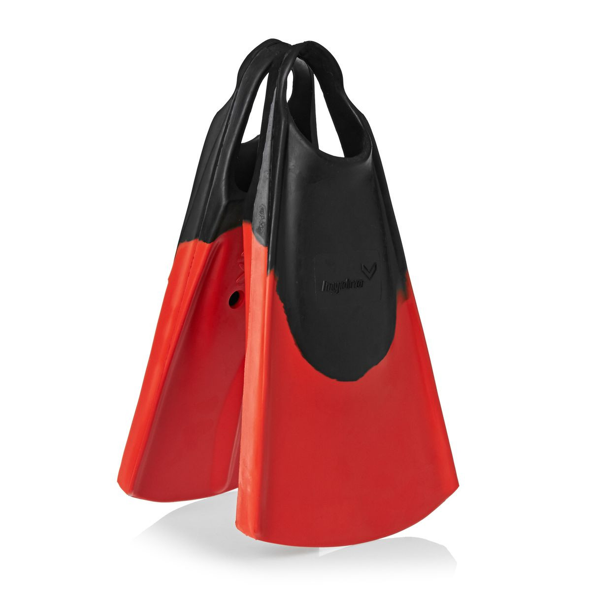 Hydro Original Bodyboard Fins - Black/ Red