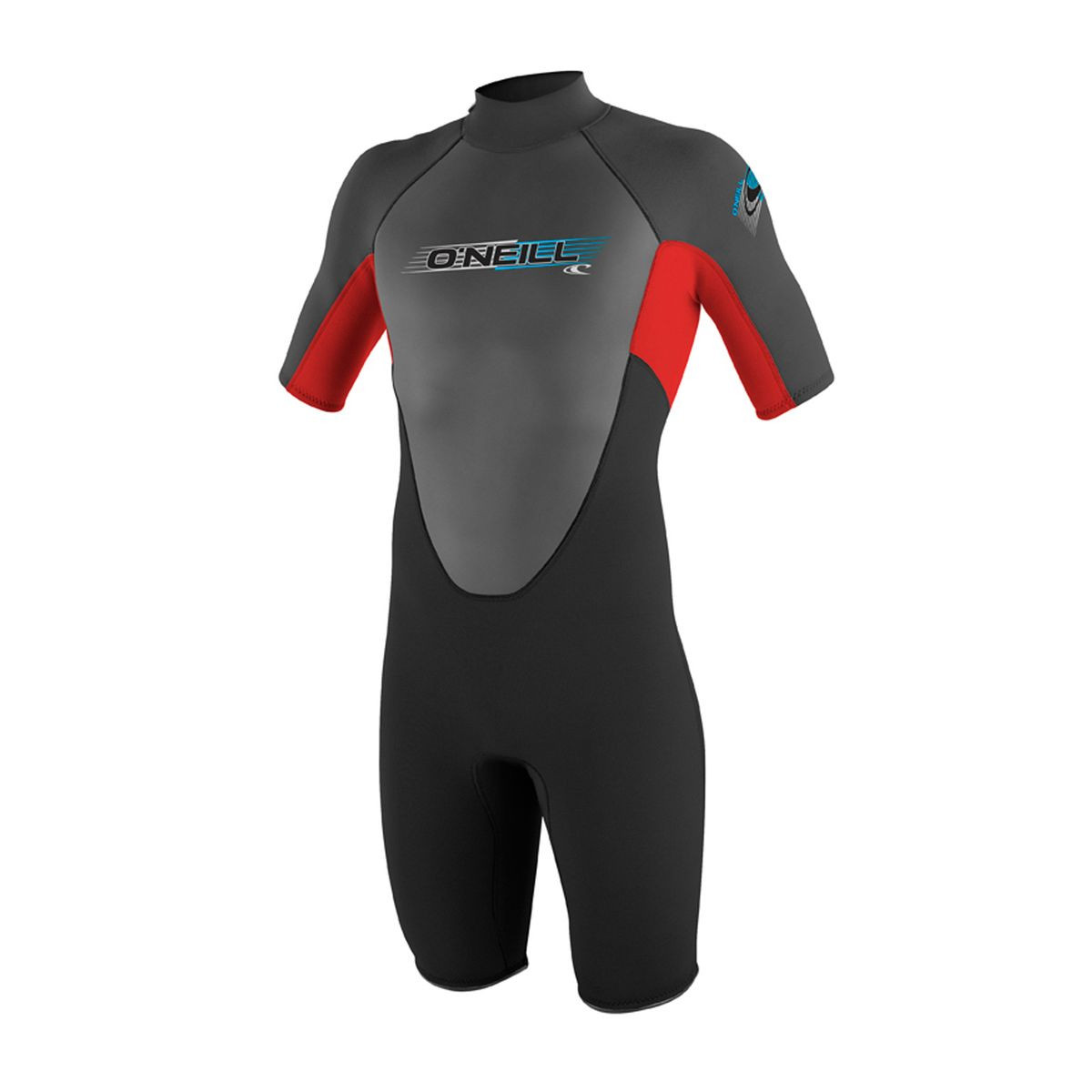 O'Neill Reactor 2mm Spring Wetsuit - Black/Red/Black