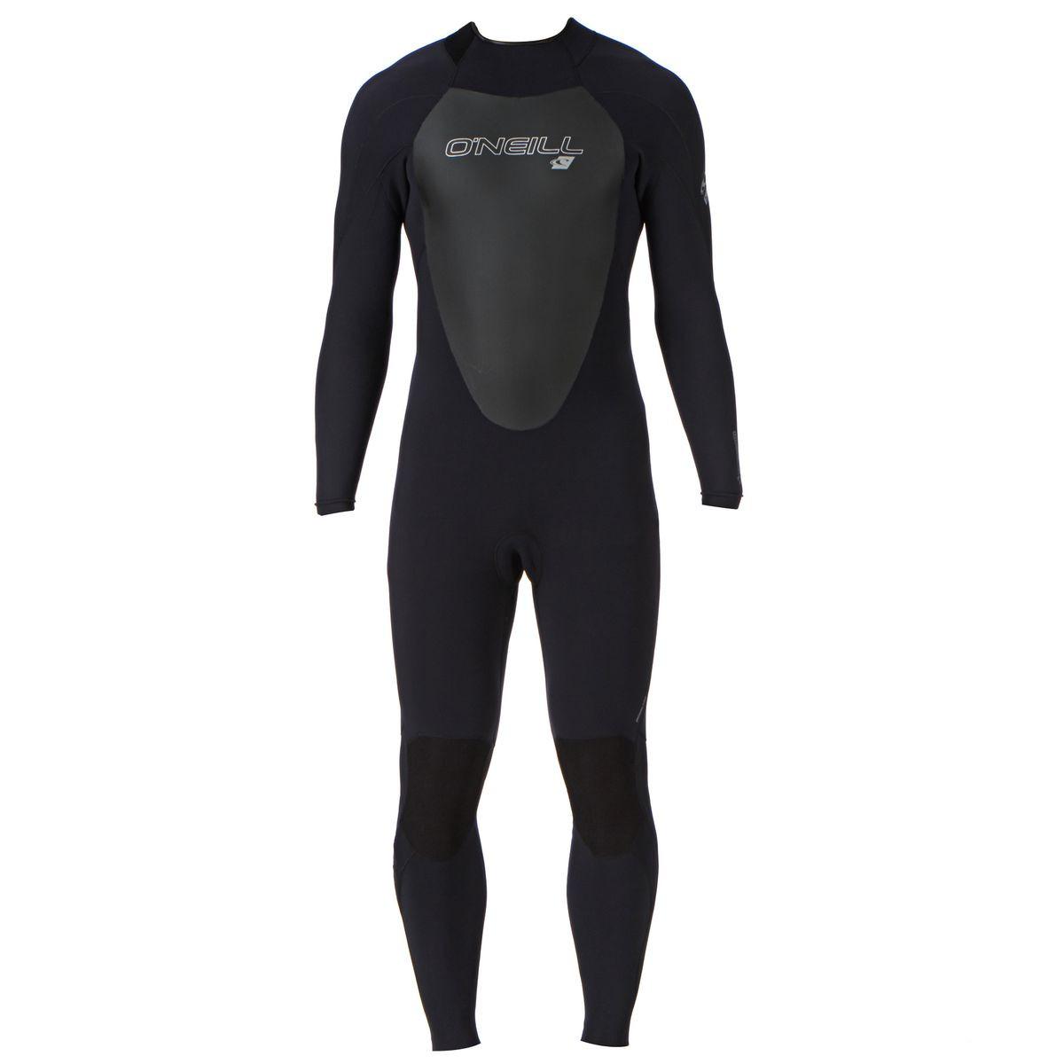 O'Neill Epic 4/3mm Back Zip Wetsuit - Black/Black/Black