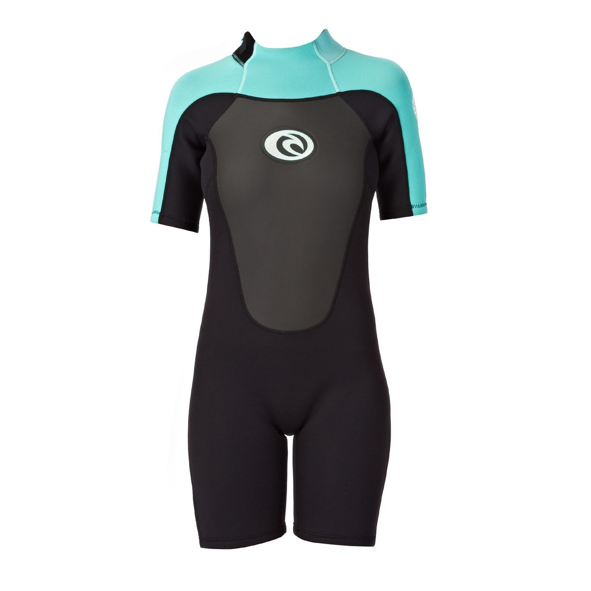Rip Curl Women s Omega 2mm Back Zip Shorty Wetsuit - Turquoise 3696bea95