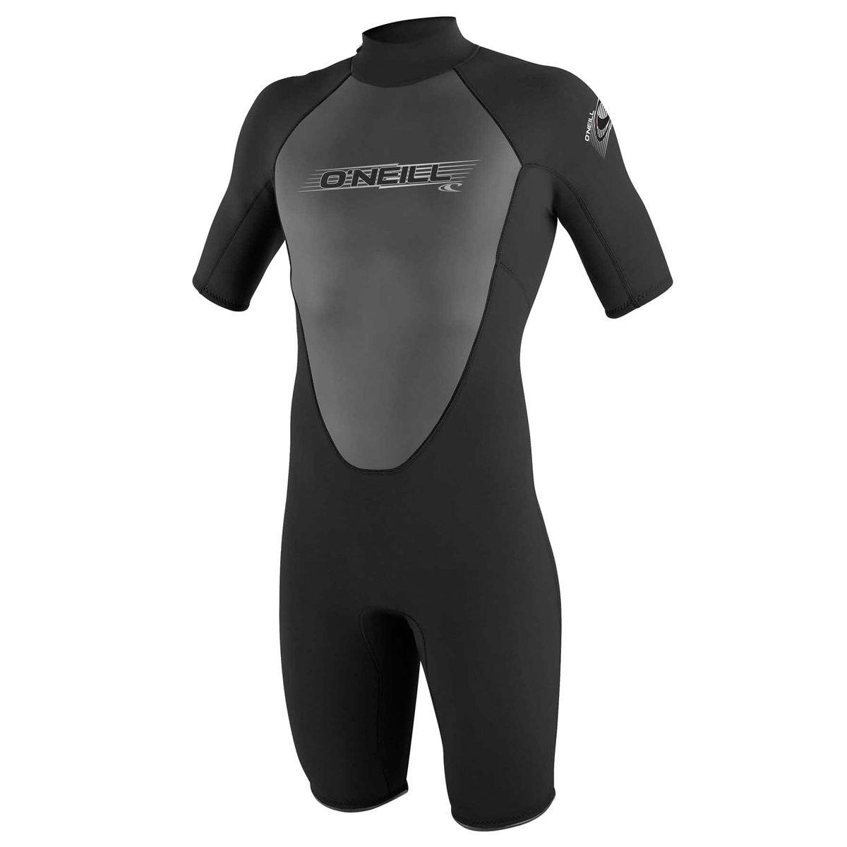 O'Neill Reactor 2mm Shorty Wetsuit - Black/ Black/ Black