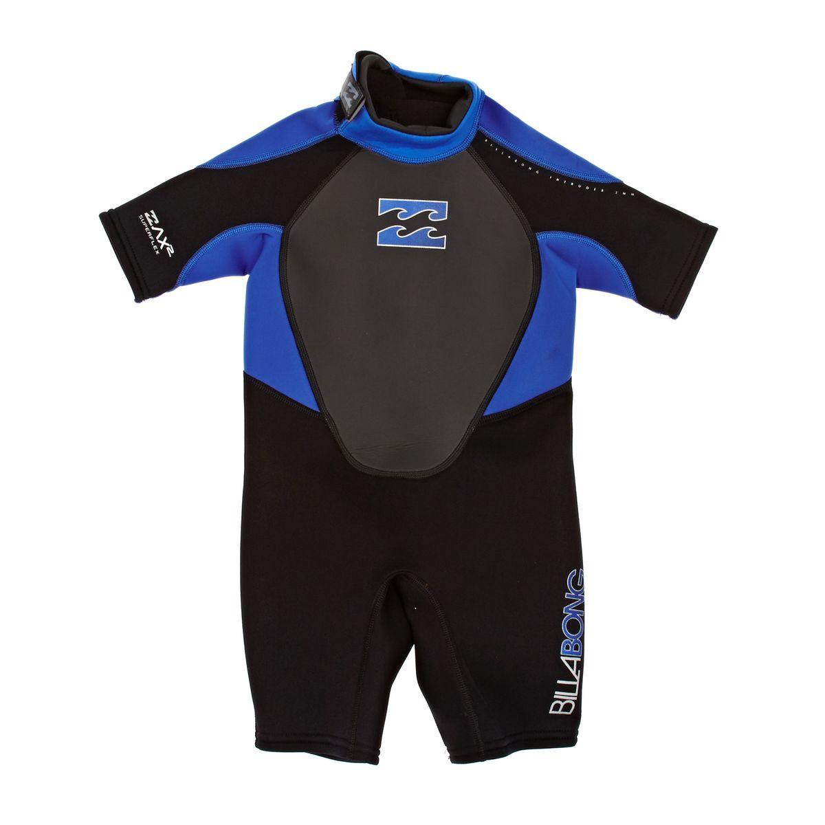 Billabong Toddler Intruder 2mm Shorty Wetsuit - Blue