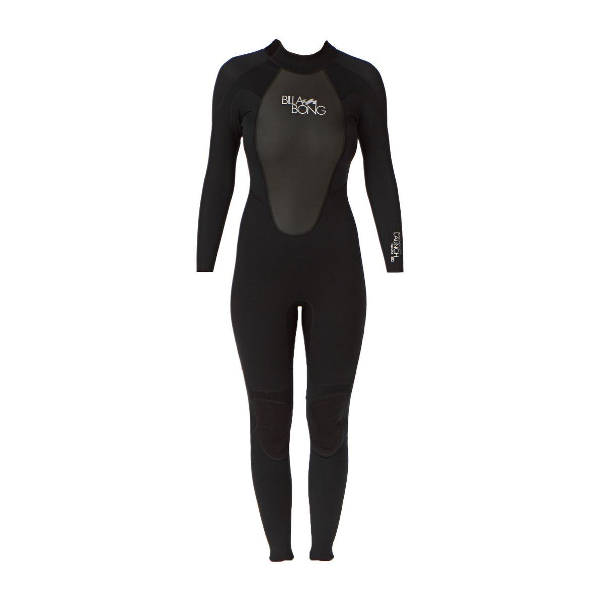 Billabong Launch 3/2mm Back Zip Fl Wetsuit - Black