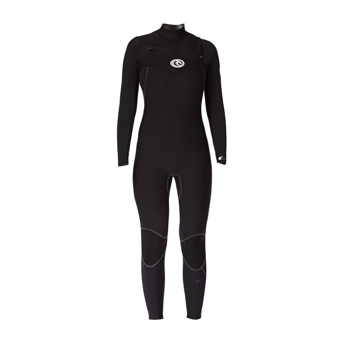 Rip Curl Womens Flashbomb 5/3mm Chest Zip Wetsuit - Black