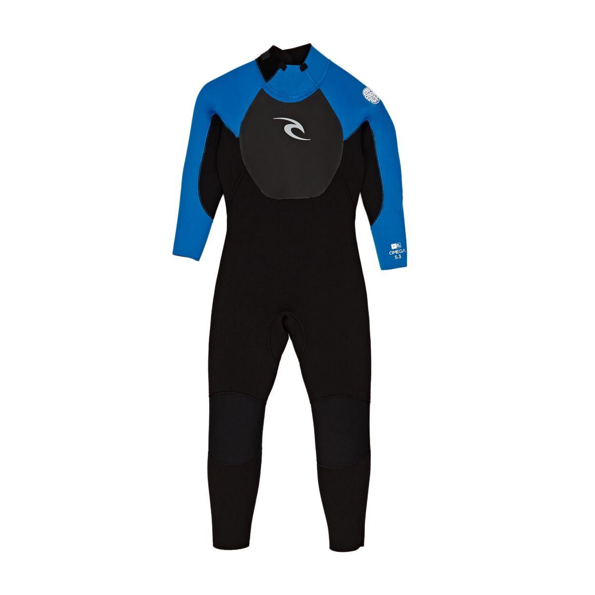 Rip Curl Kids 5mm Omega Steamer Wetsuit - Blue