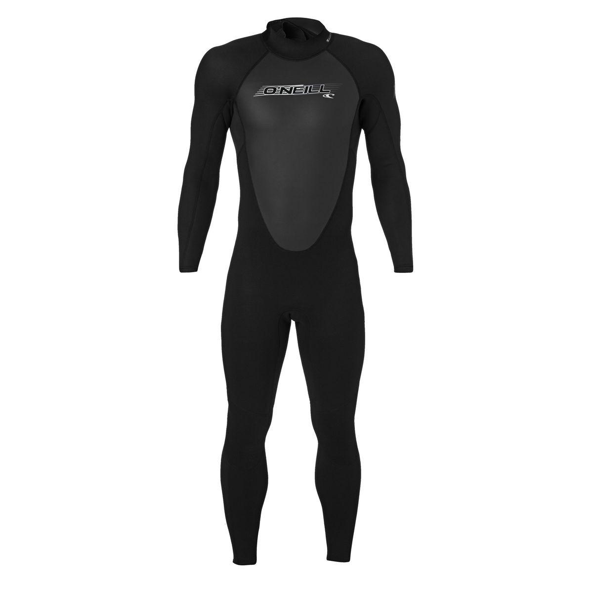 O'Neill Reactor 3/2mm Back Zip Wetsuit - Black