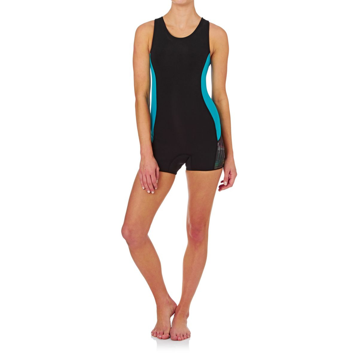 Patagonia Womens R1 1.5mm Zipperless Jane Wetsuit - Howling Turquoise