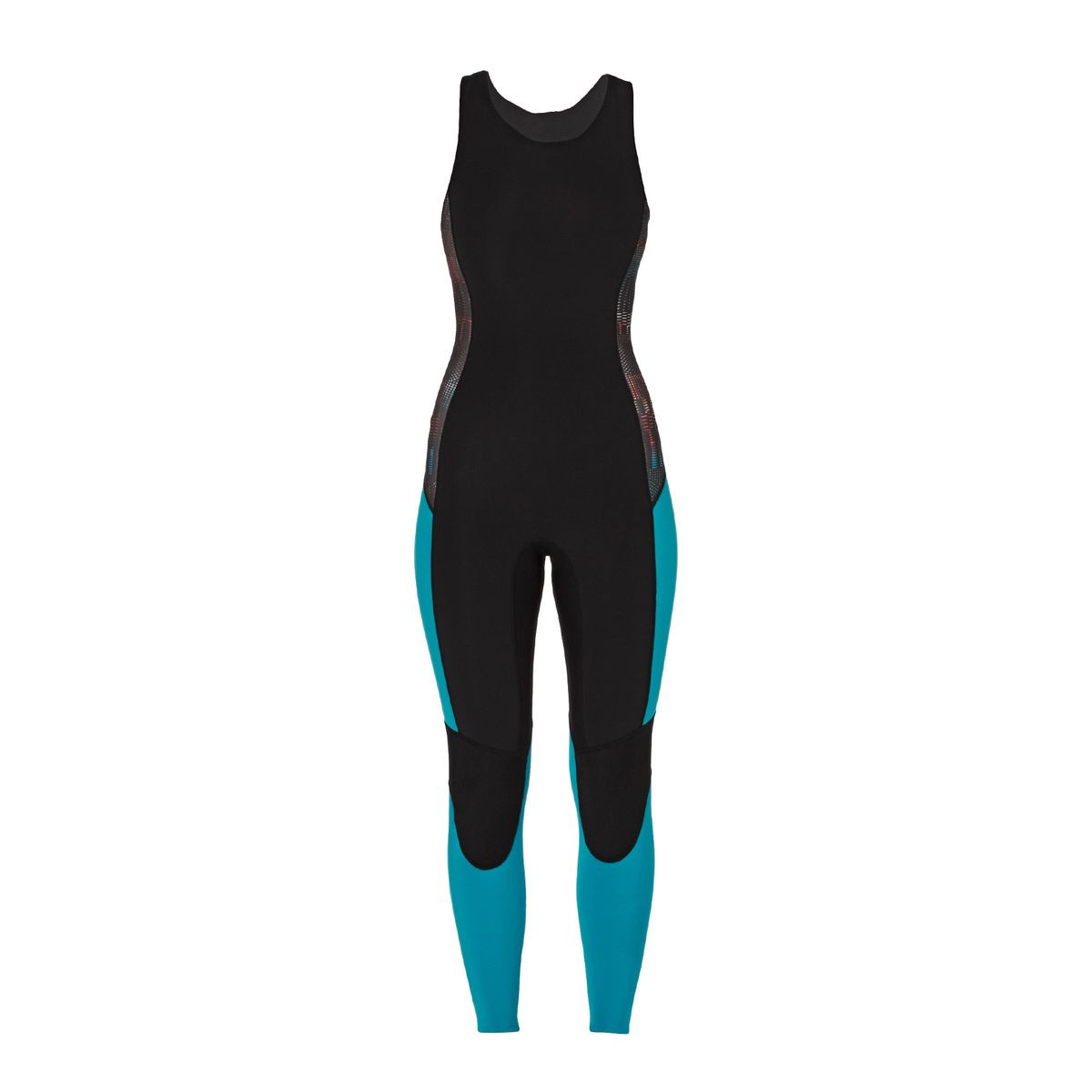 Patagonia Womens R1 1.5mm Zipperless Long Jane Wetsuit - Howling Turquoise