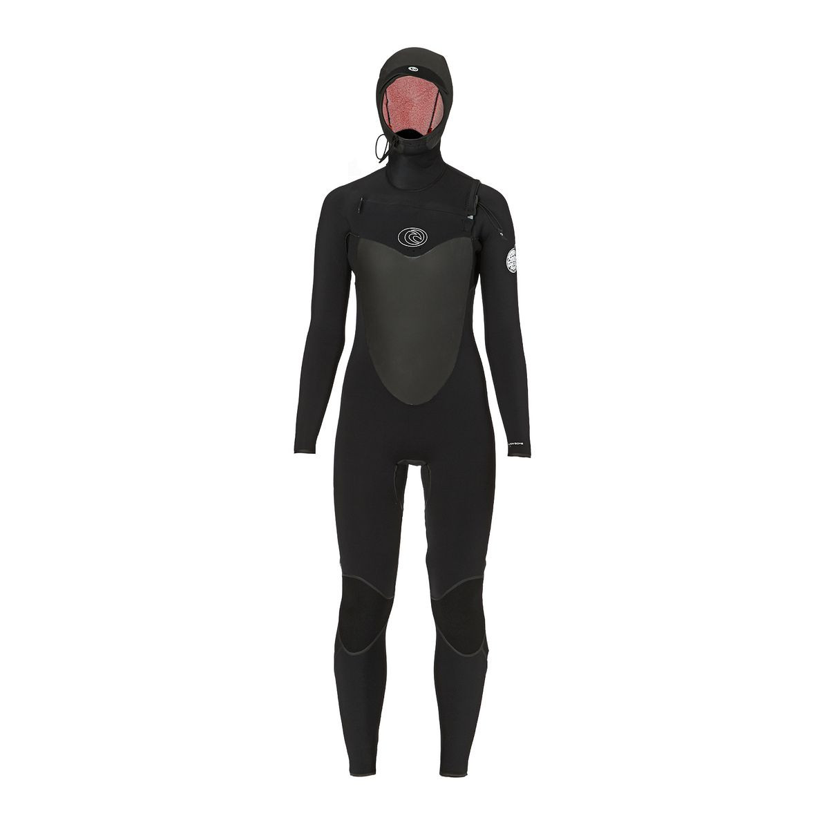 Rip Curl Womens F-Bomb 5/4mm 2017 Hooded Wetsuit - Black