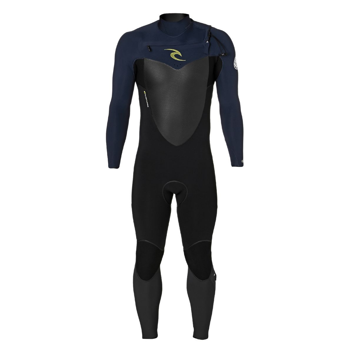 Rip Curl Flashbomb 4/3mm 2017 Chest Zip Wetsuit - Navy