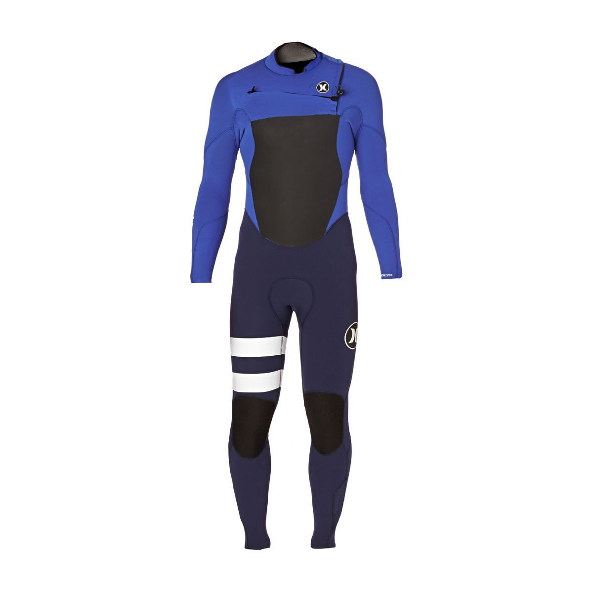 Hurley Fusion 4/3mm 2017 Chest Zip Wetsuit - Racer Blue