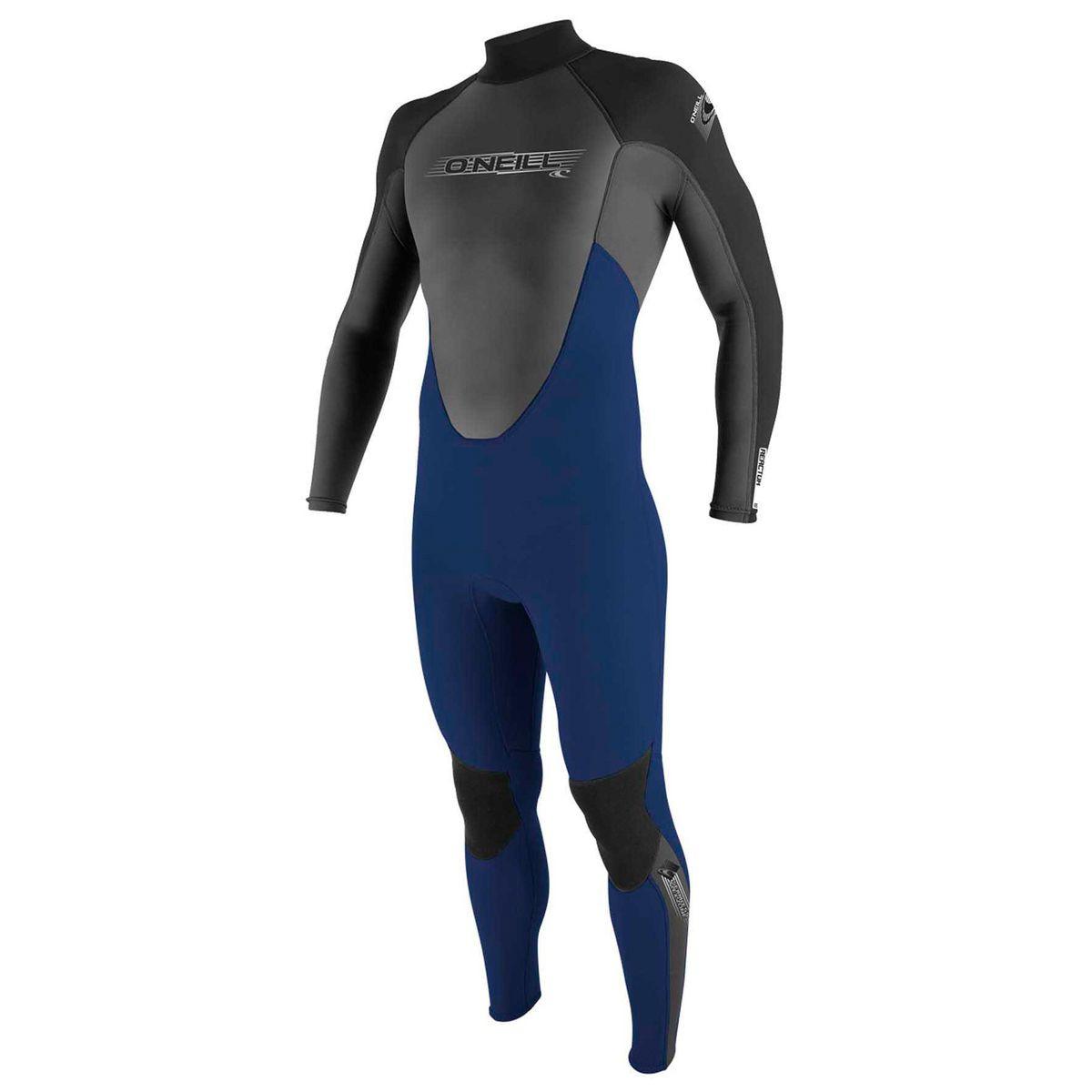 O'Neill Reactor 3/2mm Back Zip Wetsuit - Navy/ Graphite/ Black