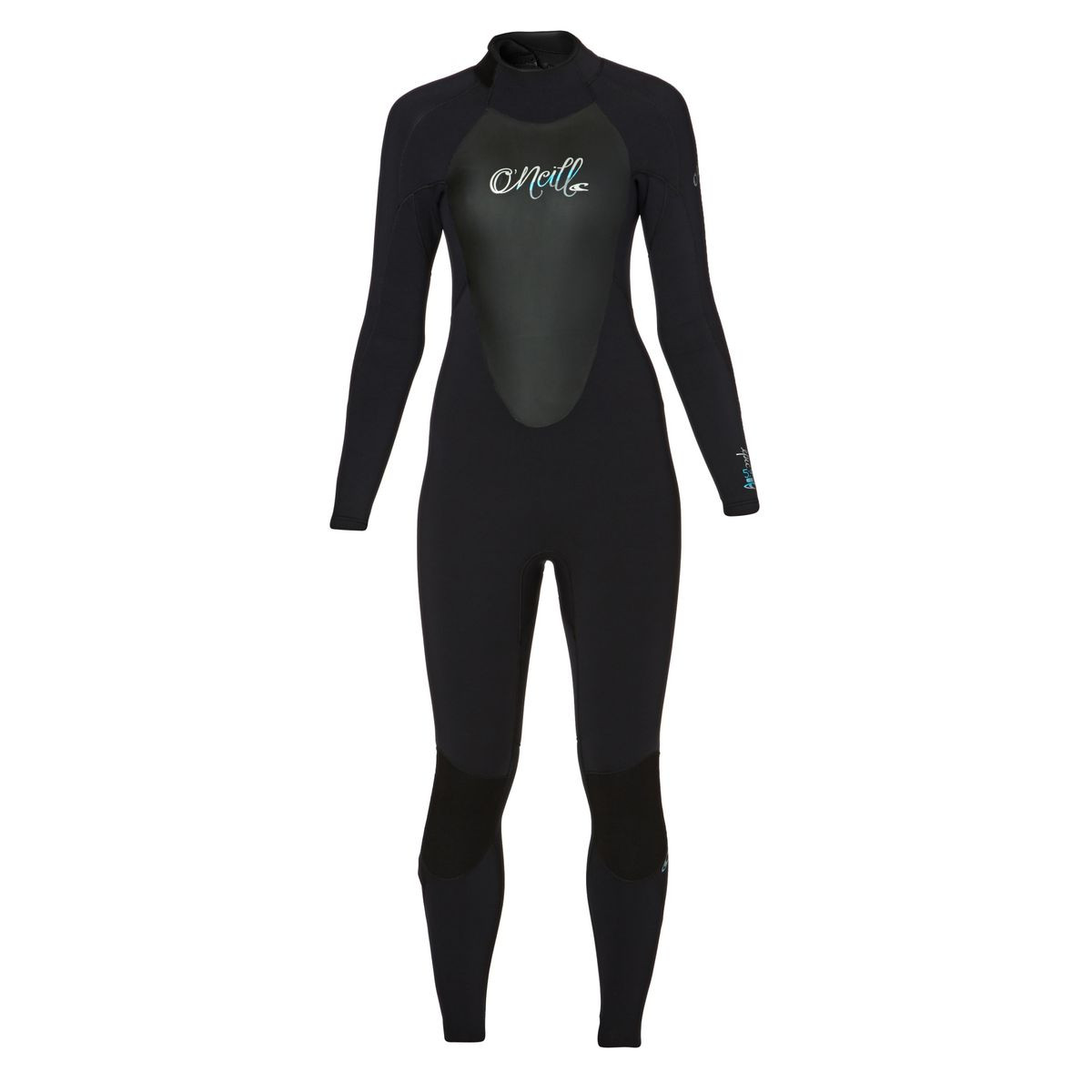 O'Neill Womens Epic 5/4mm 2017 Back Zip Wetsuit - Black/ Black/ Black