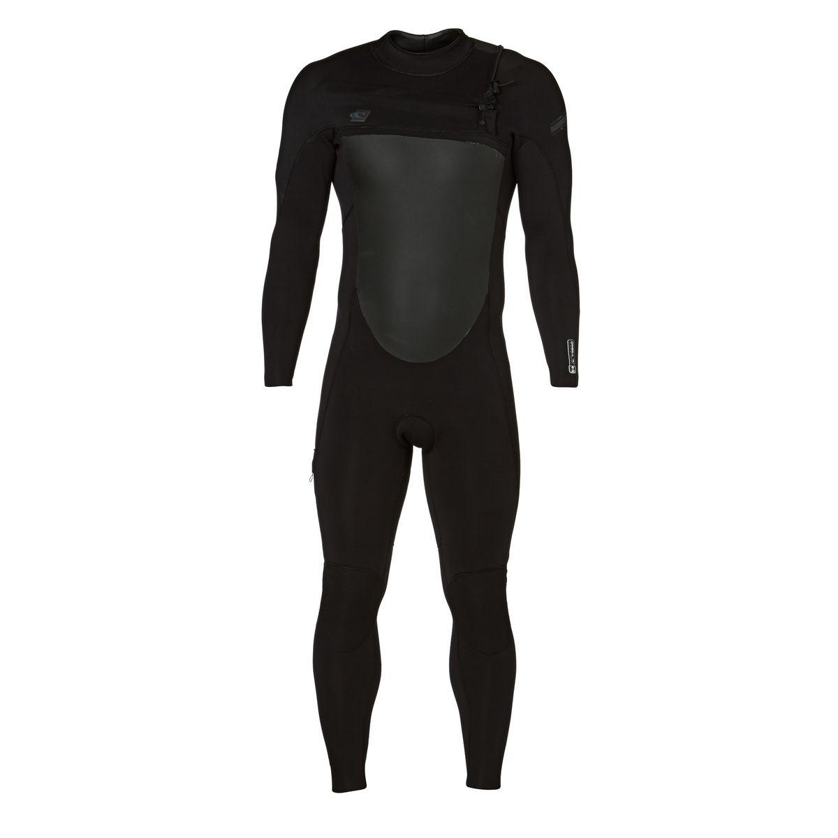 O'Neill Superfreak 4/3mm 2017 Chest Zip Wetsuit - Black/ Black/ Black
