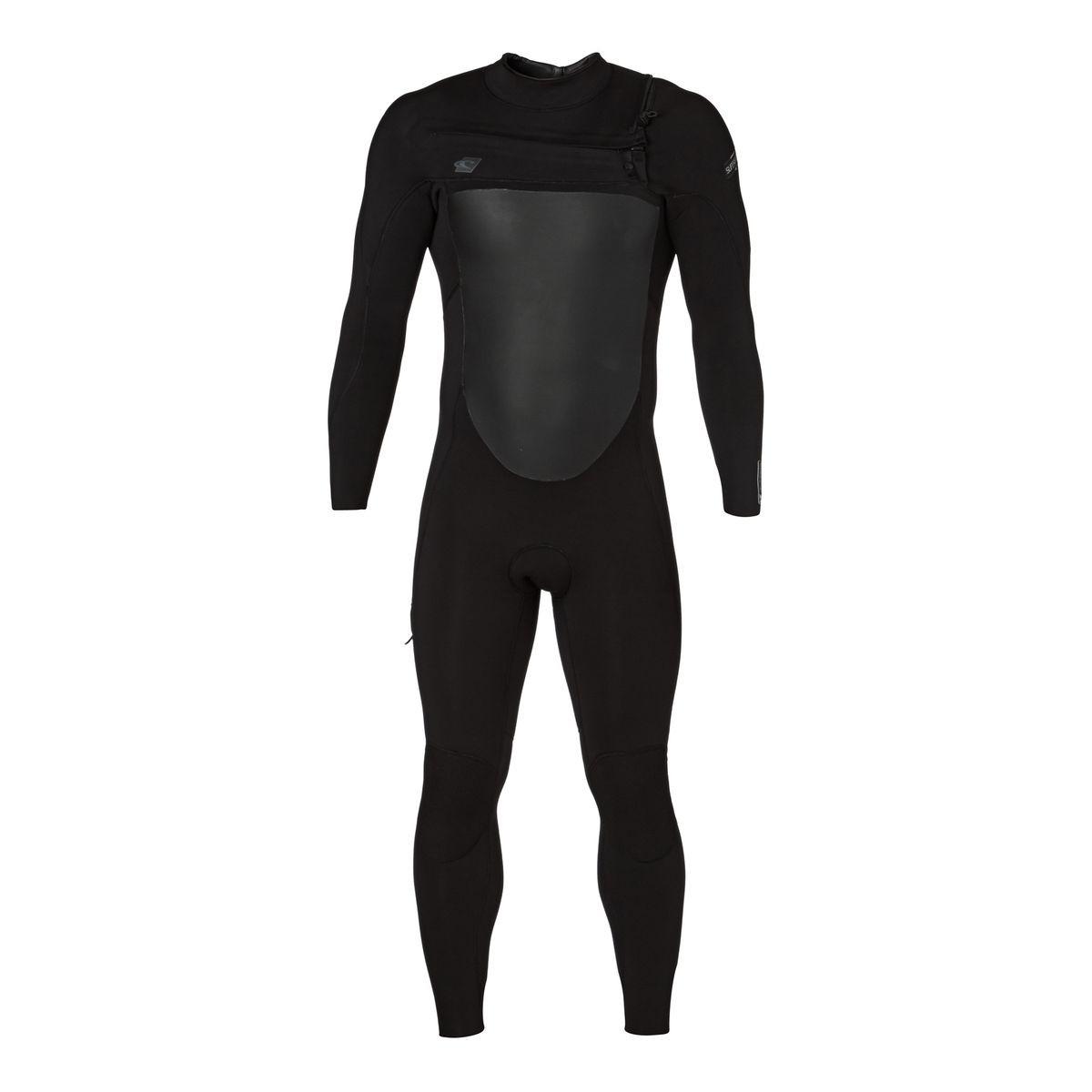 O'Neill Superfreak 5/4mm 2017 Chest Zip Wetsuit - Black/ Black/ Black