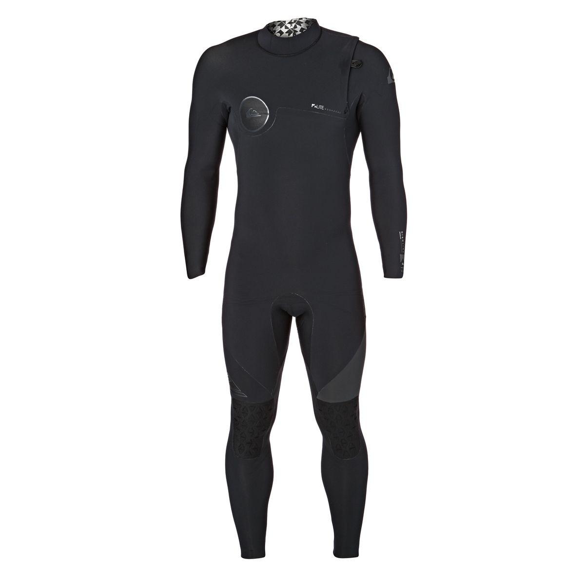 Quiksilver Highline 4/3mm 2017 Zipperless Wetsuit - Black