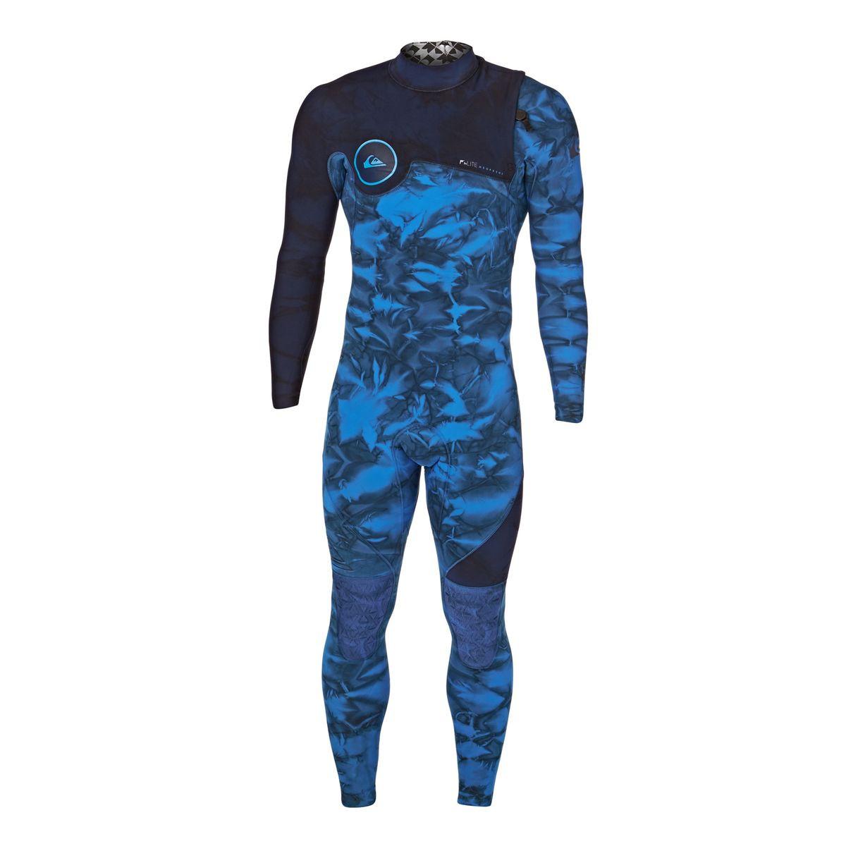 Quiksilver Highline Dye Capsule 3/2mm 2017 Zipperless Wetsuit - Navy Blazer