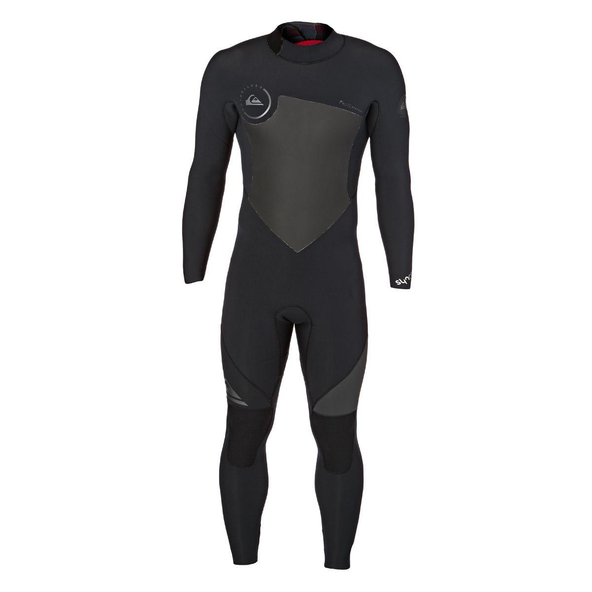 Quiksilver Syncro 5/4/3mm 2017 Back Zip Wetsuit - Black
