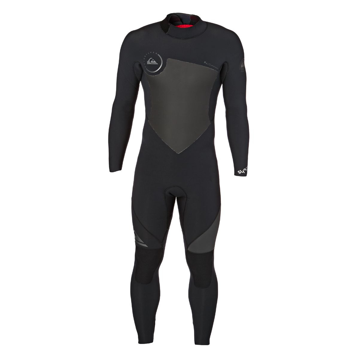 Quiksilver Syncro 4/3mm 2017 Back Zip Wetsuit - Black
