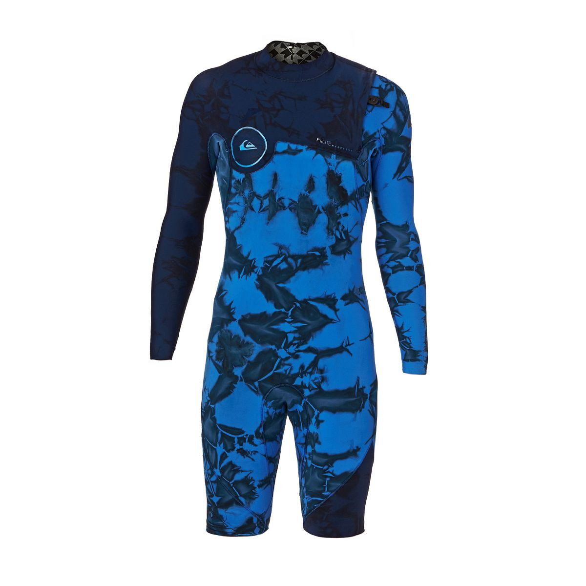 Quiksilver Highline Dye Capsule 2mm 2017 Long Sleeve Zipperless Wetsuit - Navy Blazer