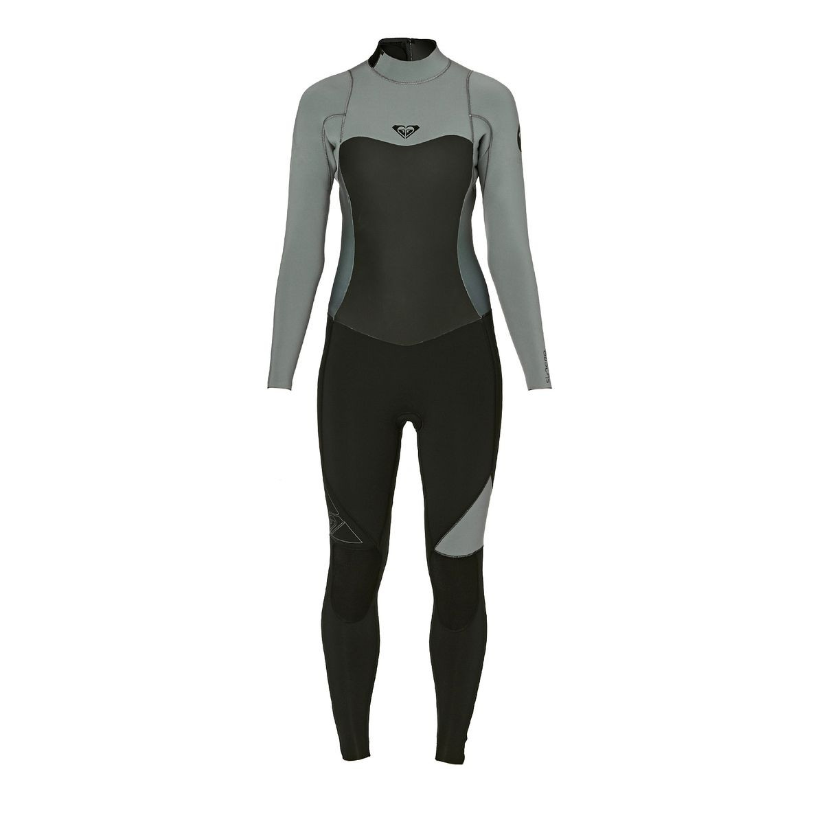 Roxy Womens Syncro 4/3mm 2017 Back Zip Wetsuit - Black