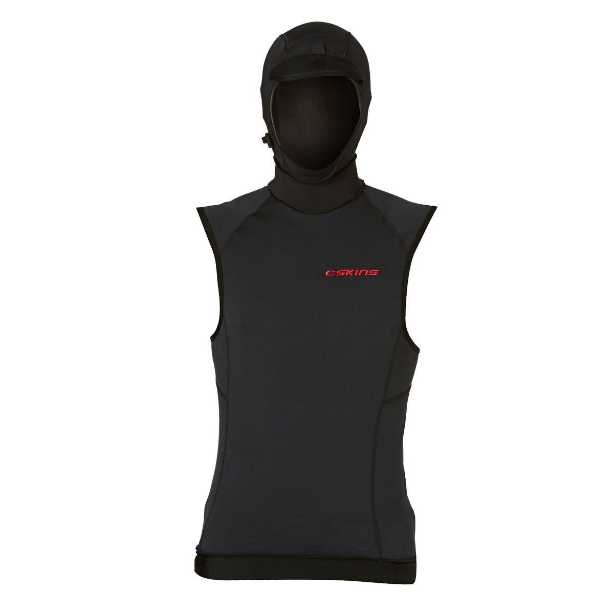 C-Skins 2017 HDi Thermal Hooded Rash Vest - Black