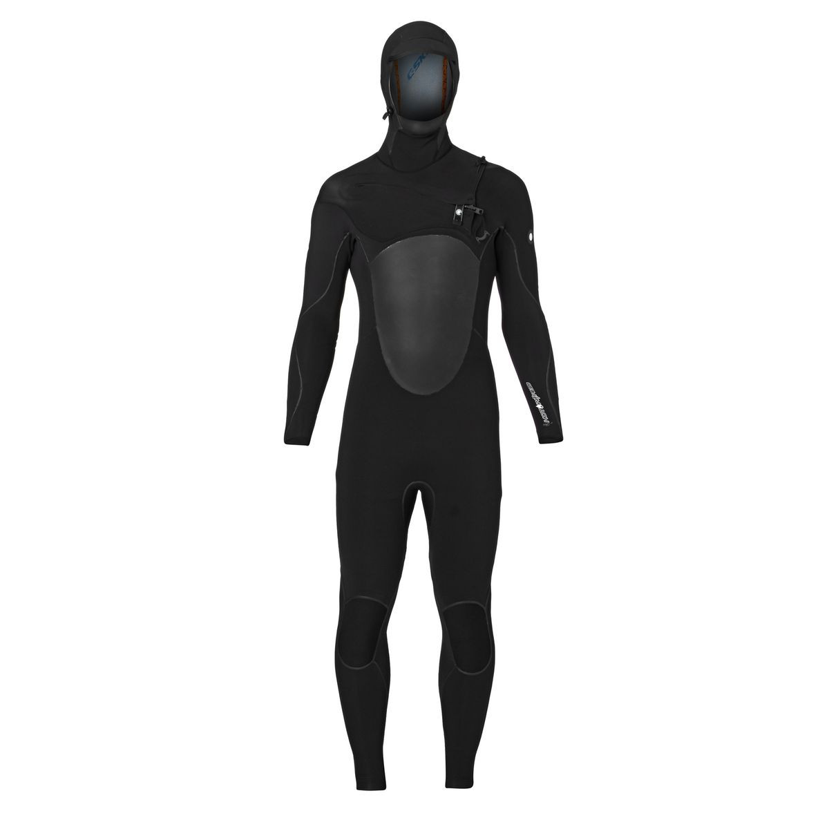C-Skins Hotwired 5/4mm 2017 Hooded Chest Zip Wetsuit - Black