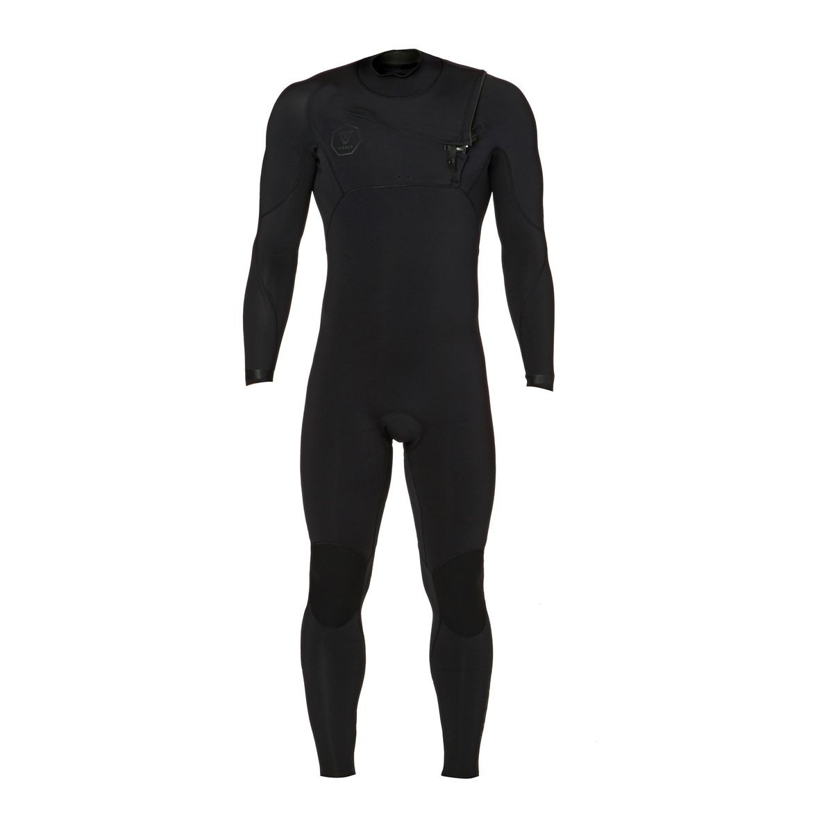 Vissla Seven Seas 3/2mm 2017 Chest Zip Wetsuit - Stealth