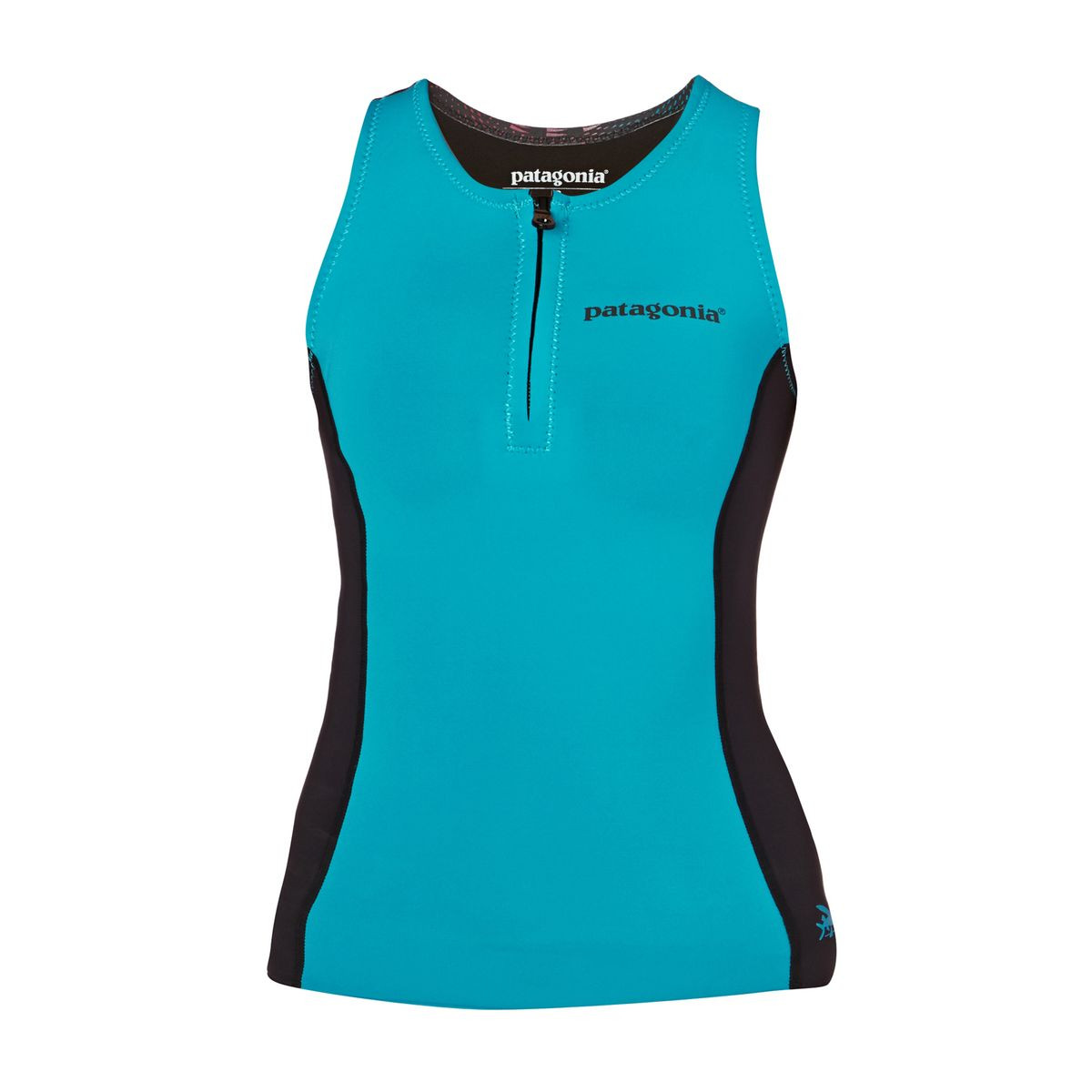 Patagonia Women R1 1.5mm 2017 Wetsuit Vest - Howling Turquoise