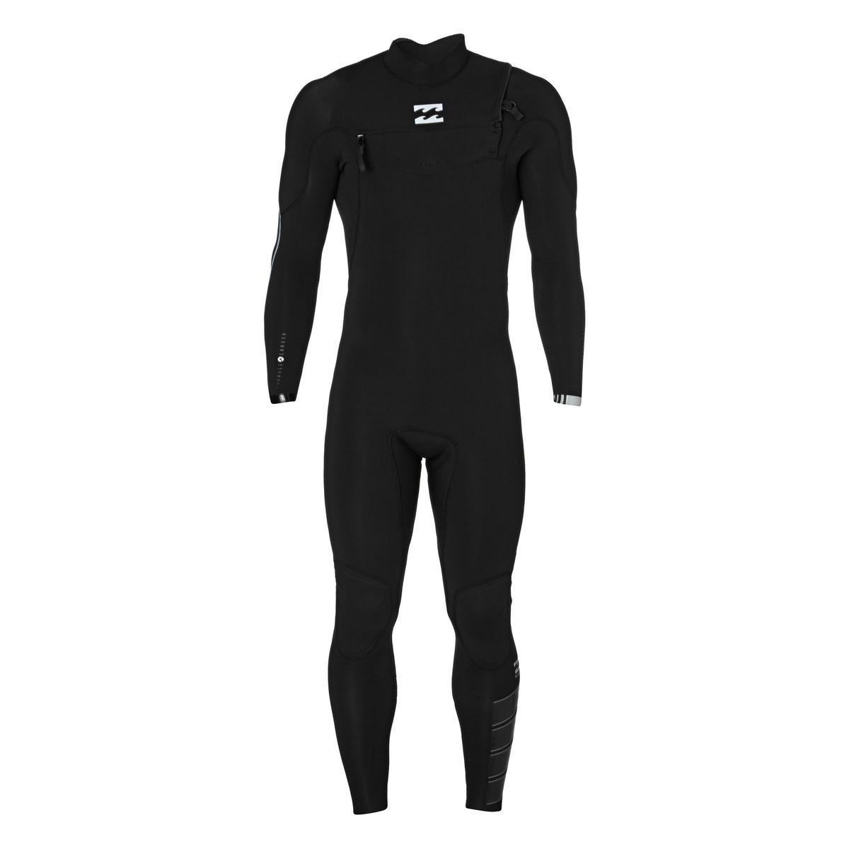 Billabong Furnace Comp 4/3mm 2017 Chest Zip Wetsuit - Black