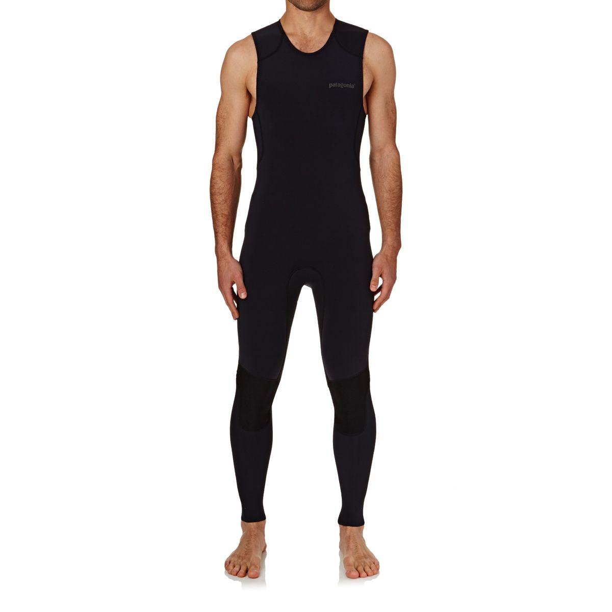 Patagonia R1 Lite Yulex Long John Wetsuit - Black