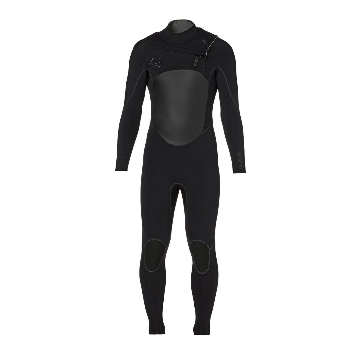 Xcel Drylock 5/4mm 2017 TDC Chest Zip Wetsuit - Black