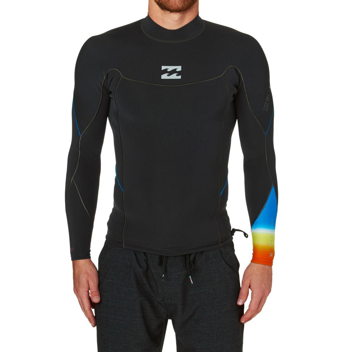 Billabong Pro Series 1mm Long Sleeve Wetsuit Jacket - Faded