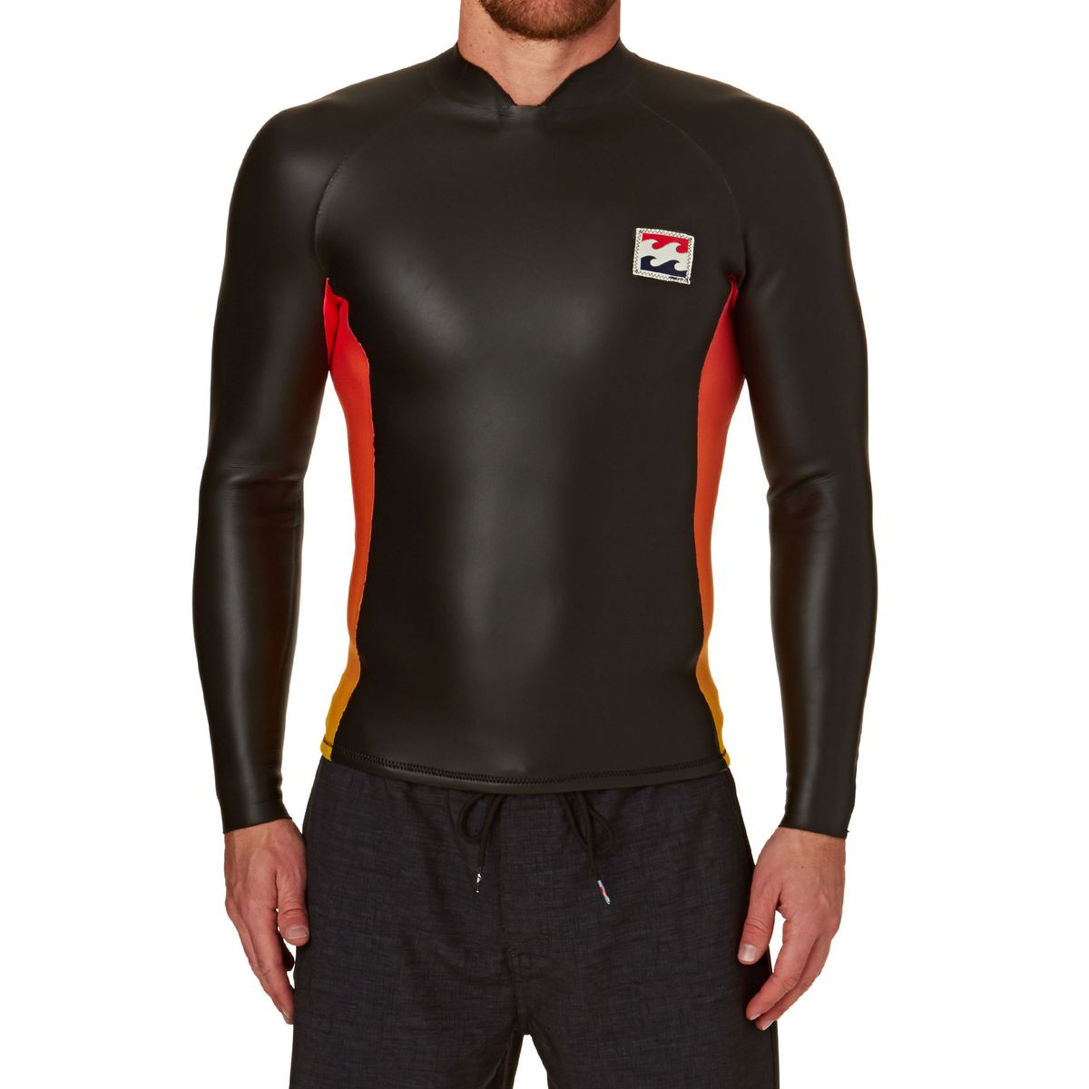 Billabong Revolution Re Issue 2mm 2017 Back Zip Long Sleeve Wetsuit - Faded