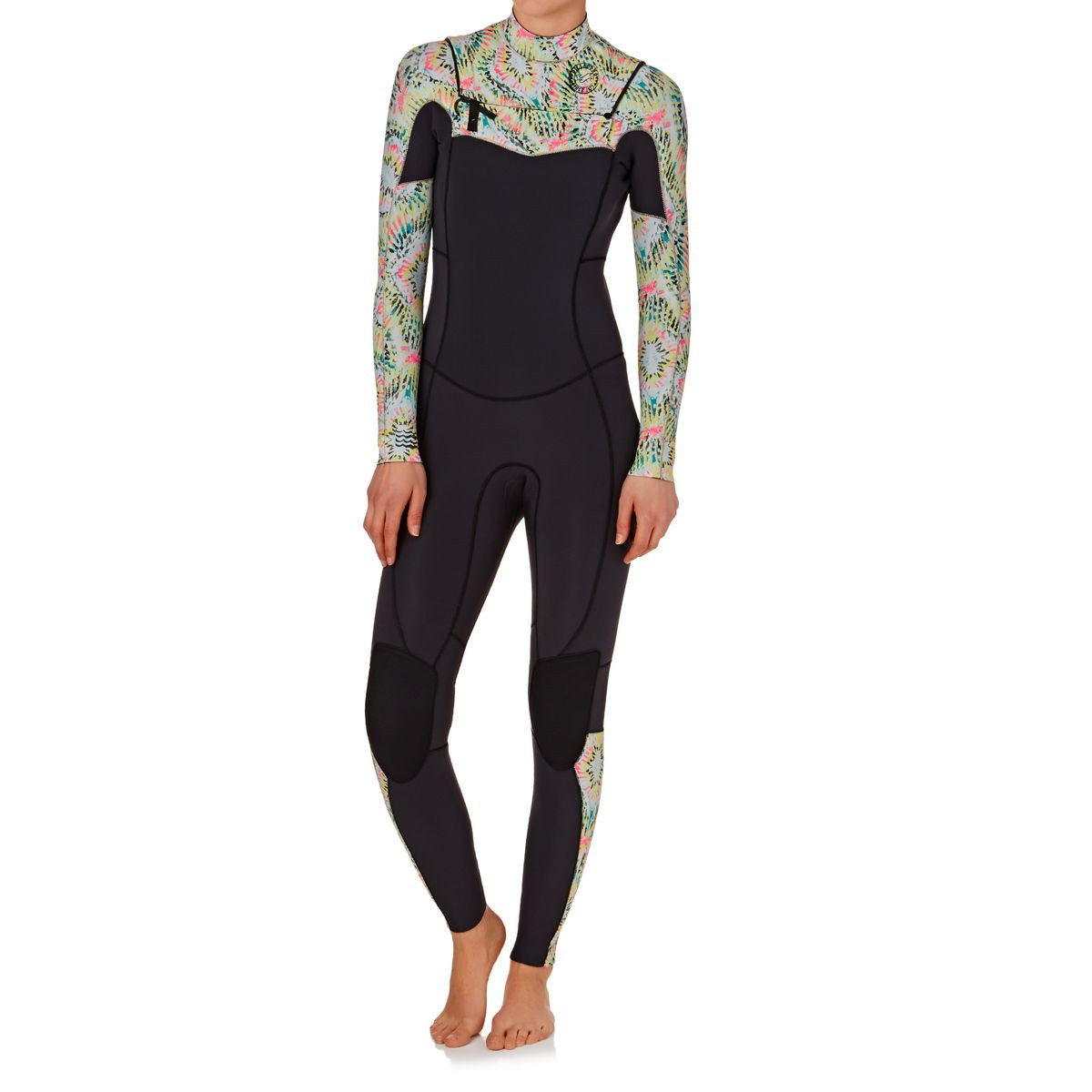Billabong Womens Surf Capsule Salty Dayz 3/2mm 2017 Chest Zip Wetsuit - Aloe