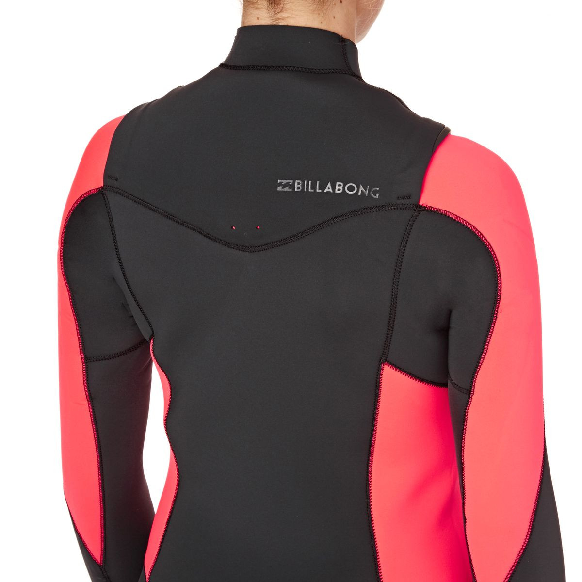 Billabong Womens Synergy 3/2mm 2017 Chest Zip Wetsuit - Coral Kiss