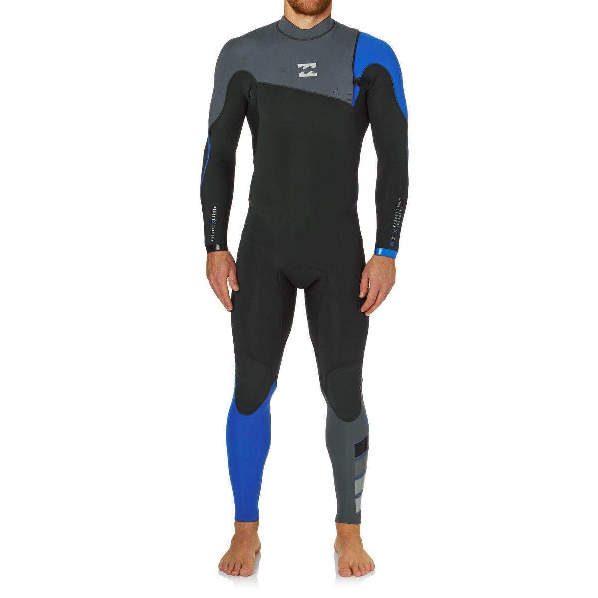 Billabong Furn Pro 3/2mm 2017 Zipperless Wetsuit - Ocean