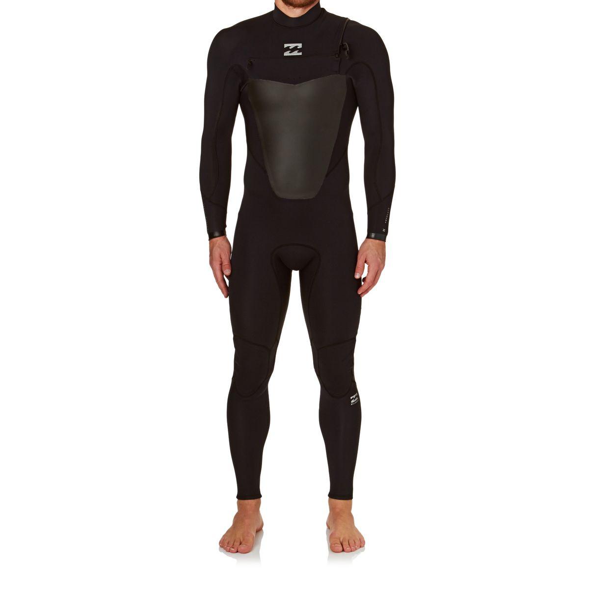 Billabong Absolute Comp 3/2mm 2017 Chest Zip Wetsuit - Black