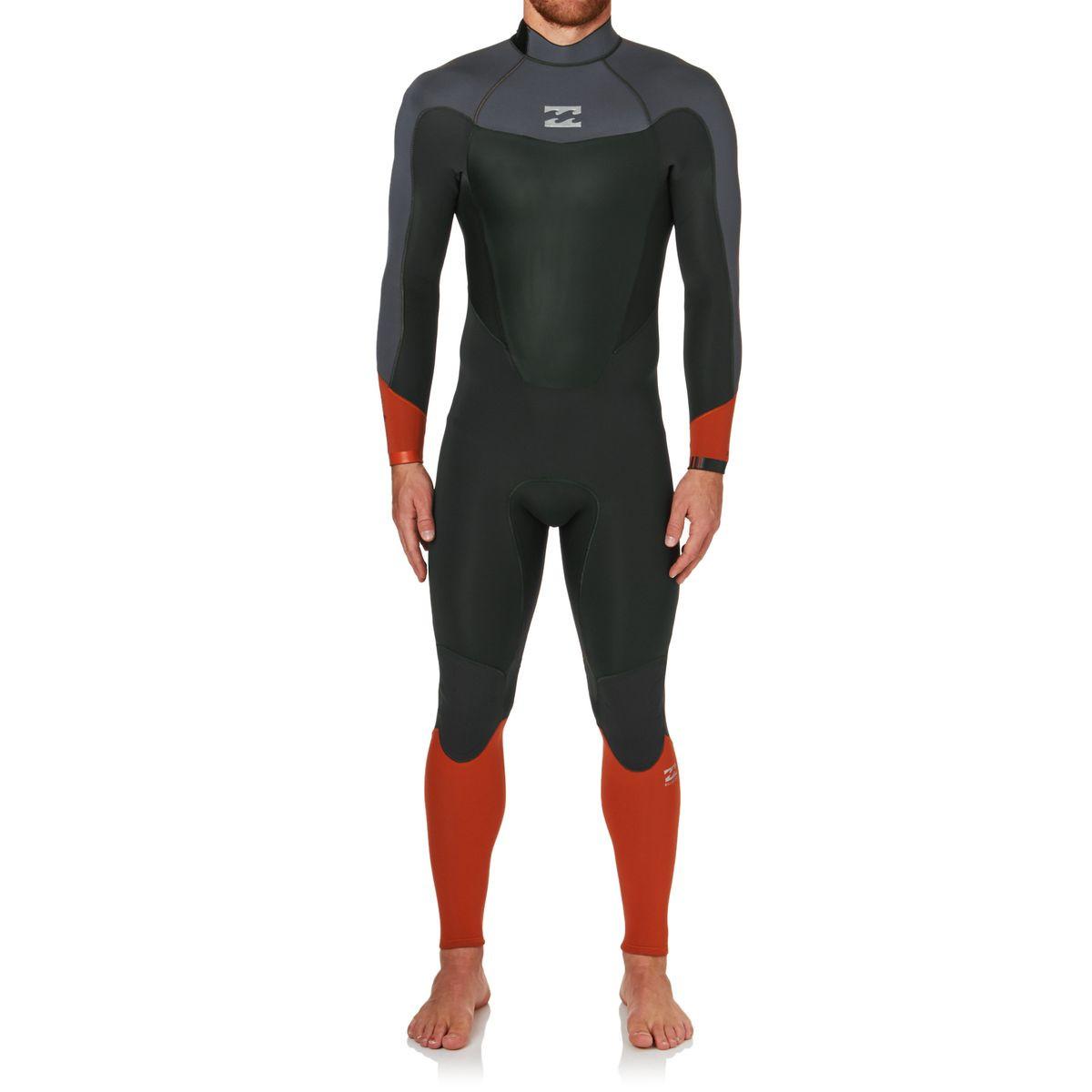 Billabong Absolute Comp 3/2mm 2017 Back Zip Wetsuit - Orange