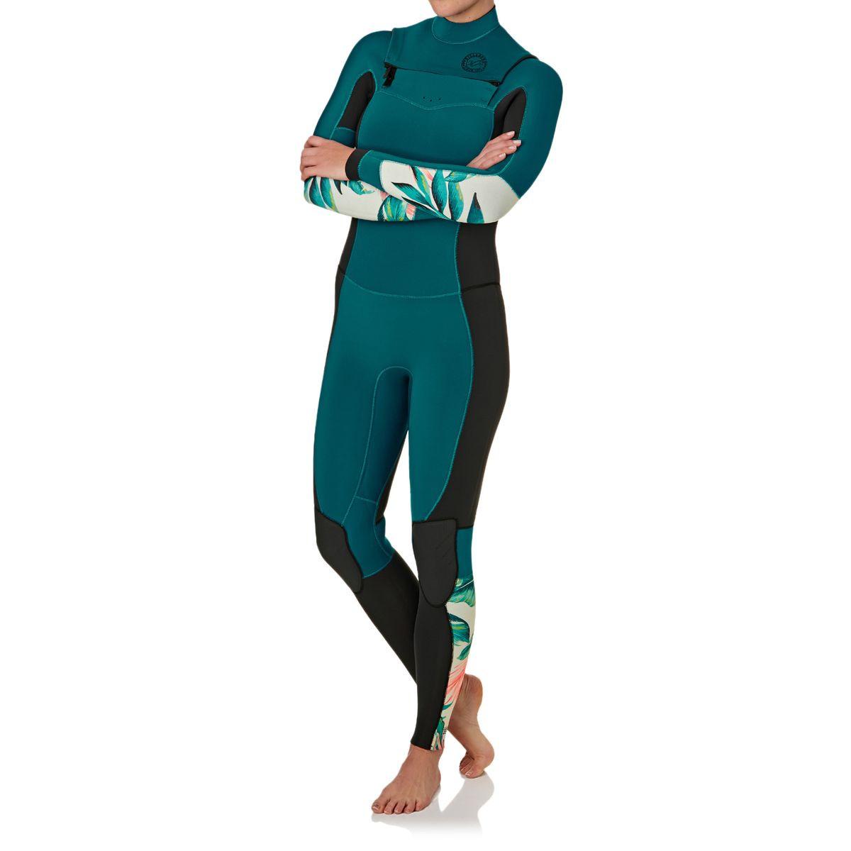 5d22fc9328ec9 Billabong Womens Salty Dayz 4 3mm 2017 Chest Zip Wetsuit - Maldive