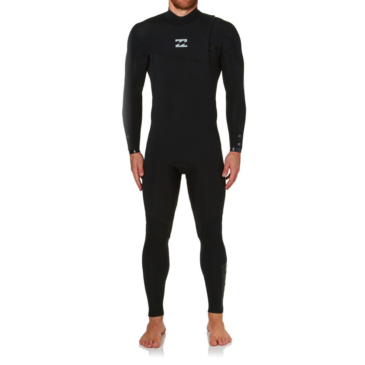 Billabong Furn Pro 4/3mm 2017 Zipperless Wetsuit - Black