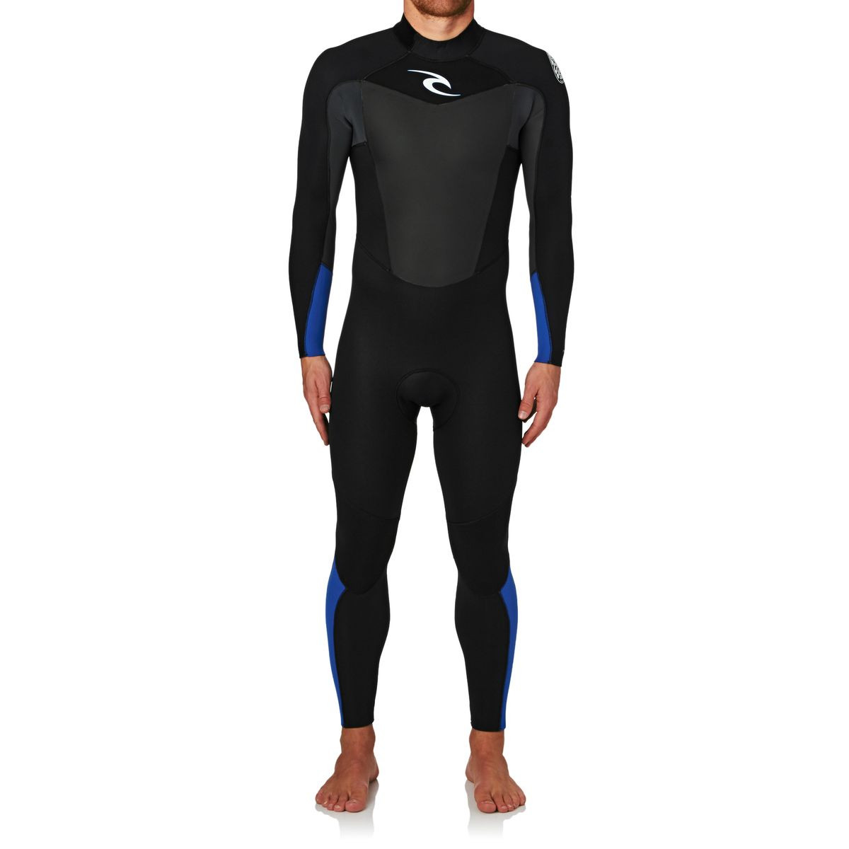 Rip Curl Omega 3/2mm 2017 Back Zip Wetsuit - Blue