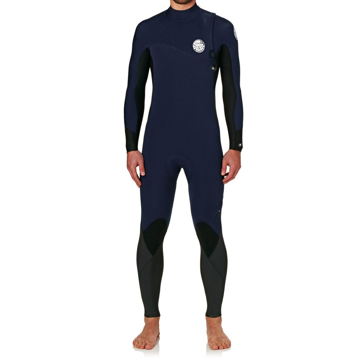 Rip Curl Flashbomb 3/2mm Zipperless Wetsuit - Navy