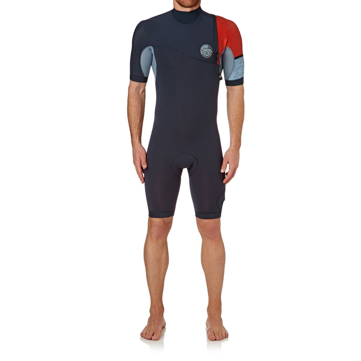 Rip Curl E-bomb Pro 2mm Zipperless Short Sleeve Shorty Wetsuit - Red