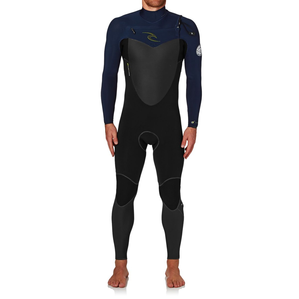 Rip Curl Flashbomb 3/2mm 2017 Chest Zip Wetsuit - Navy