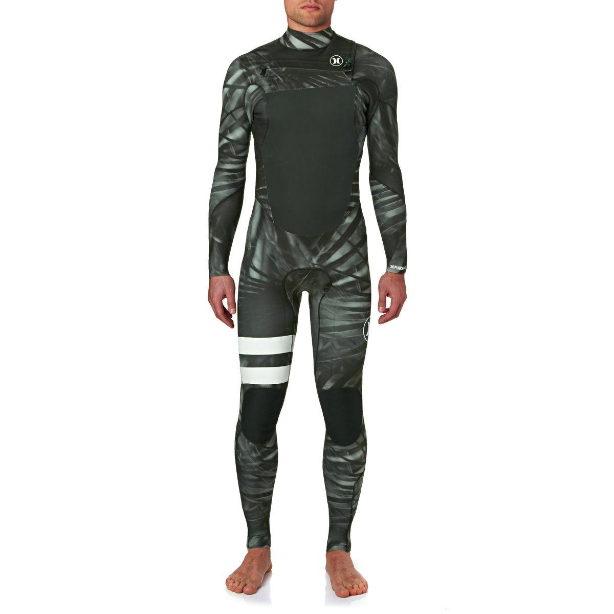 Hurley Fusion 3/2mm 2017 Chest Zip Wetsuit - Black Camo